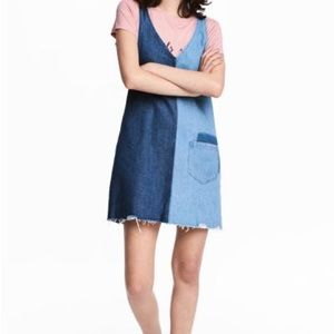 H&M Two Toned Denim Dress